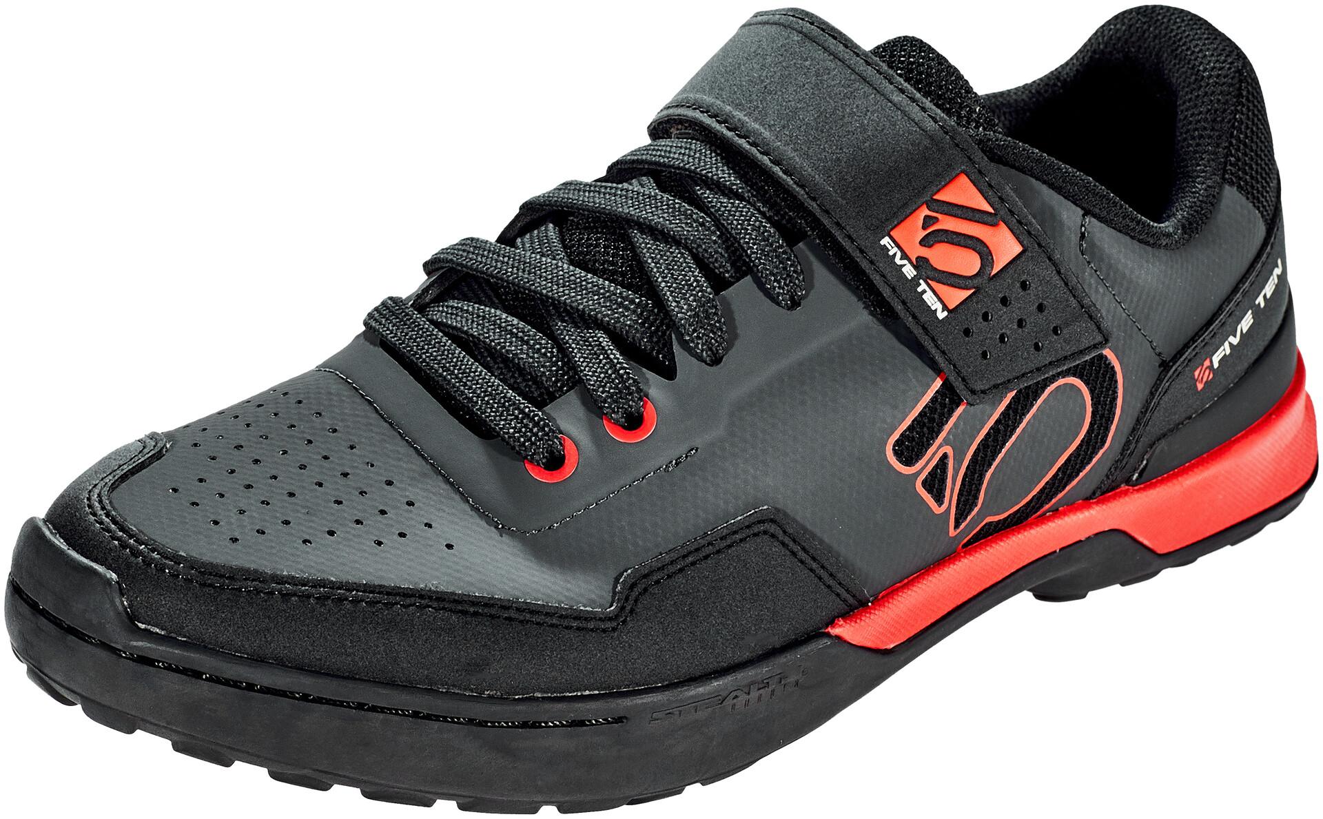adidas Five Ten 5.10 Kestrel Lace Shoes Herre carboncore blackred